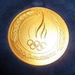 OLYMPIC GOLD MEDAL EOC GIVEN TO DR OOLO